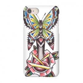 iPhone 8/7  Butterfly dagger rose by Evaldas Gulbinas