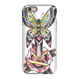 iPhone 6/6s  Butterfly dagger rose by Evaldas Gulbinas