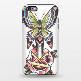 iPhone 6/6s plus  Butterfly dagger rose by Evaldas Gulbinas