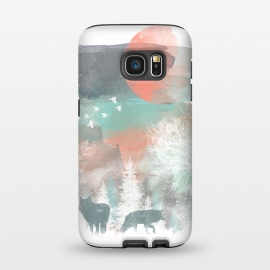 Galaxy S7  Winter Paint by Elizabeth Dioquinto