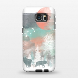 Galaxy S7 EDGE  Winter Paint by Elizabeth Dioquinto