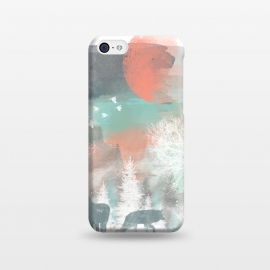 iPhone 5C  Winter Paint by Elizabeth Dioquinto