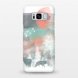 Galaxy S8+  Winter Paint by Elizabeth Dioquinto