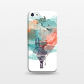 iPhone 5C  Fly and Free by Elizabeth Dioquinto