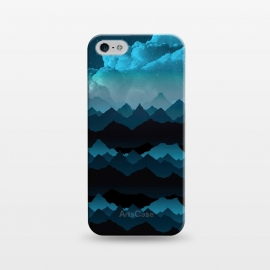 iPhone 5/5E/5s  Midnight Blue by Elizabeth Dioquinto