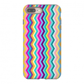 Zigzag by Elizabeth Dioquinto (colorful,zigzag,patterns,pastel)