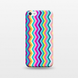 iPhone 5C  Zigzag by Elizabeth Dioquinto