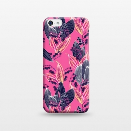 iPhone 5C  Acidic Floral by Victoria Krupp-Rombalski