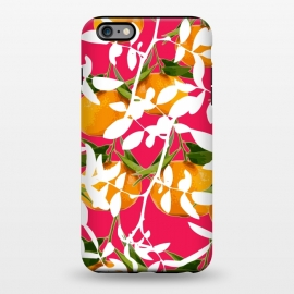iPhone 6/6s plus  Hiding Mandarins (Pink) by Zala Farah