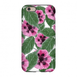 iPhone 6/6s  Pink Poppies by Zala Farah