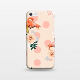 iPhone 5C  Flamingo Jazz by Uma Prabhakar Gokhale