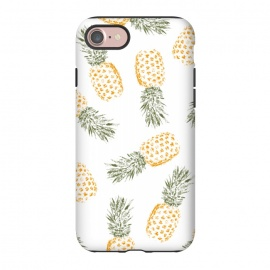 iPhone 8/7  Pineapple by Rui Faria (pineapple,fruit,food,pattern,color,summer,spring)