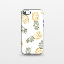 iPhone 5C  Pineapple by Rui Faria (pineapple,fruit,food,pattern,color,summer,spring)