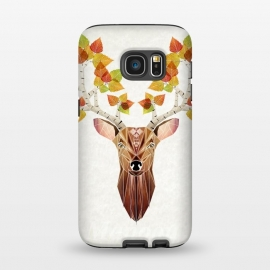 Galaxy S7  deer autumn by Manoou