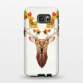 Galaxy S7 EDGE  deer autumn by Manoou
