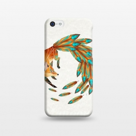 iPhone 5C  fox cercle by Manoou