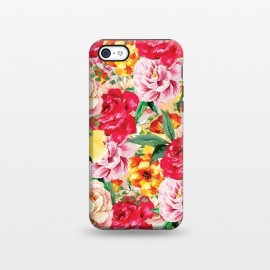 iPhone 5C  Red Roses by Rossy Villarreal