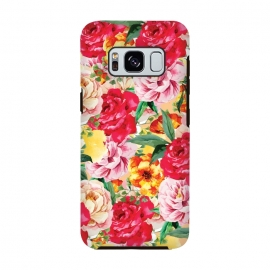 Galaxy S8  Red Roses by Rossy Villarreal