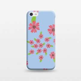 iPhone 5C  Floral spiral by Rossy Villarreal
