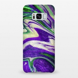 Galaxy S8+  AC18 by Ashley Camille (purple,green,abstract,paint,painting)