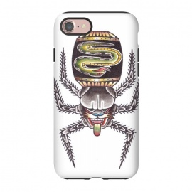 iPhone 8/7  Spaiderpather by Evaldas Gulbinas  (spider,panther,snake)