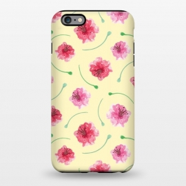 iPhone 6/6s plus  Abstract Watercolor Poppies Pattern by Olga Khomenko