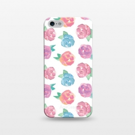 iPhone 5/5E/5s  Vintage Abstract Roses by Olga Khomenko