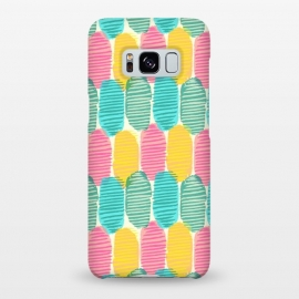 Galaxy S8+  Striped Ovals by Olga Khomenko