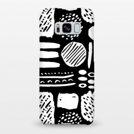 Galaxy S8+  Monochromatic Dots and Lines  by Olga Khomenko