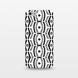 iPhone 5/5E/5s  Abstract Geometric Doodle Pattern by Olga Khomenko