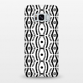 Galaxy S8+  Abstract Geometric Doodle Pattern by Olga Khomenko