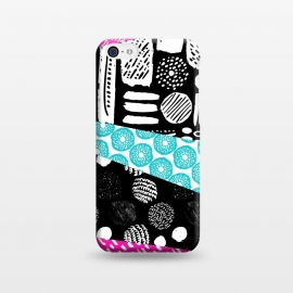 iPhone 5C  Pattern Mix by Olga Khomenko