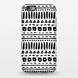 iPhone 6/6s plus  Black and White Geometric Pattern by Olga Khomenko