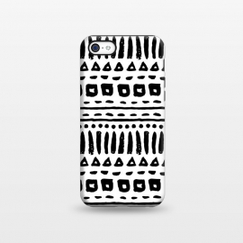 iPhone 5C  Black and White Geometric Pattern by Olga Khomenko