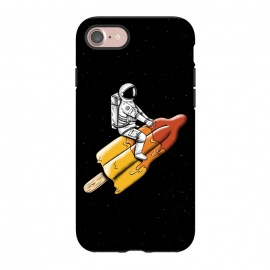iPhone 8/7  Astronaut Melted Rocket by Coffee Man