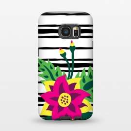 Galaxy S7  Tropical Bouquet by Olga Khomenko