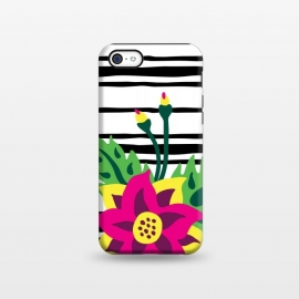 iPhone 5C  Tropical Bouquet by Olga Khomenko