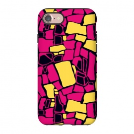 iPhone 8/7  Fuchsia and Yellow  by Olga Khomenko
