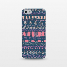 iPhone 5/5E/5s  Hand Drawn Tribal Pattern by Olga Khomenko