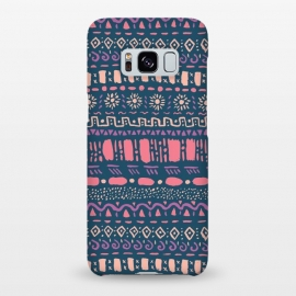 Galaxy S8+  Hand Drawn Tribal Pattern by Olga Khomenko