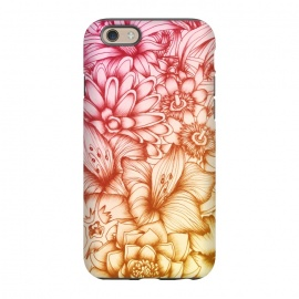 iPhone 6/6s  Tropical Flowers by Elizabeth Mazur