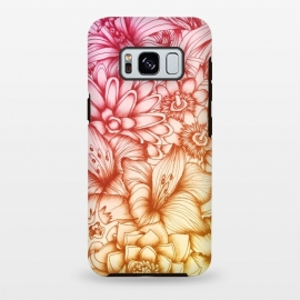 Galaxy S8 plus  Tropical Flowers by