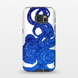 Galaxy S7  Ombre Octopus by ECMazur