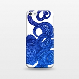 iPhone 5C  Ombre Octopus by Elizabeth Mazur