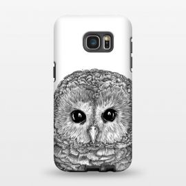 Galaxy S7 EDGE  Tiny Owl by ECMazur