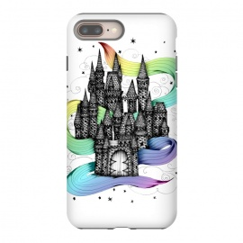 iPhone 7 plus  Super Magic Rainbow Dream Castle by Elizabeth Mazur
