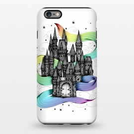 iPhone 6/6s plus  Super Magic Rainbow Dream Castle by Elizabeth Mazur