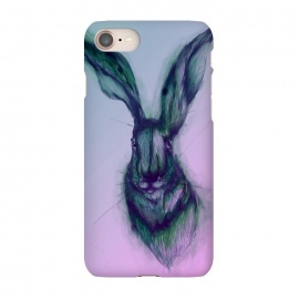 iPhone 7  Watercolor Hare by Elizabeth Mazur