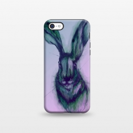 iPhone 5C  Watercolor Hare by Elizabeth Mazur
