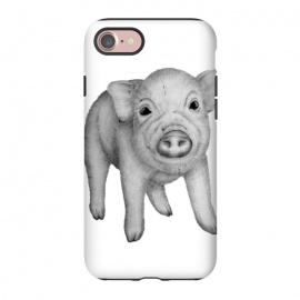 iPhone 8/7  This Little Piggy by ECMazur  (pig,micropig,animal,baby,wildlife,cute,nature)